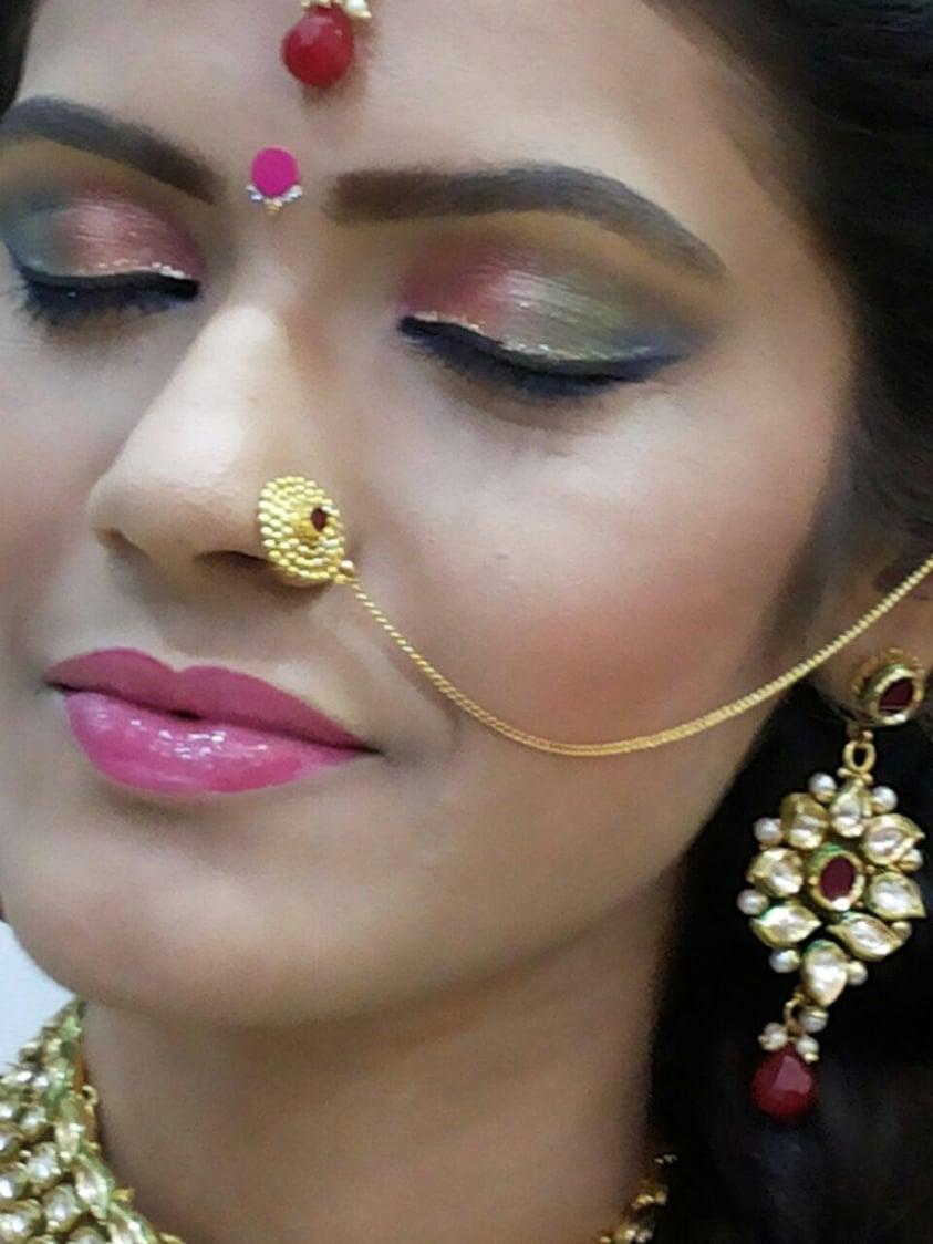 Vivacious rouge by Dhruti Raichura Bridal-makeup | Weddings Photos & Ideas