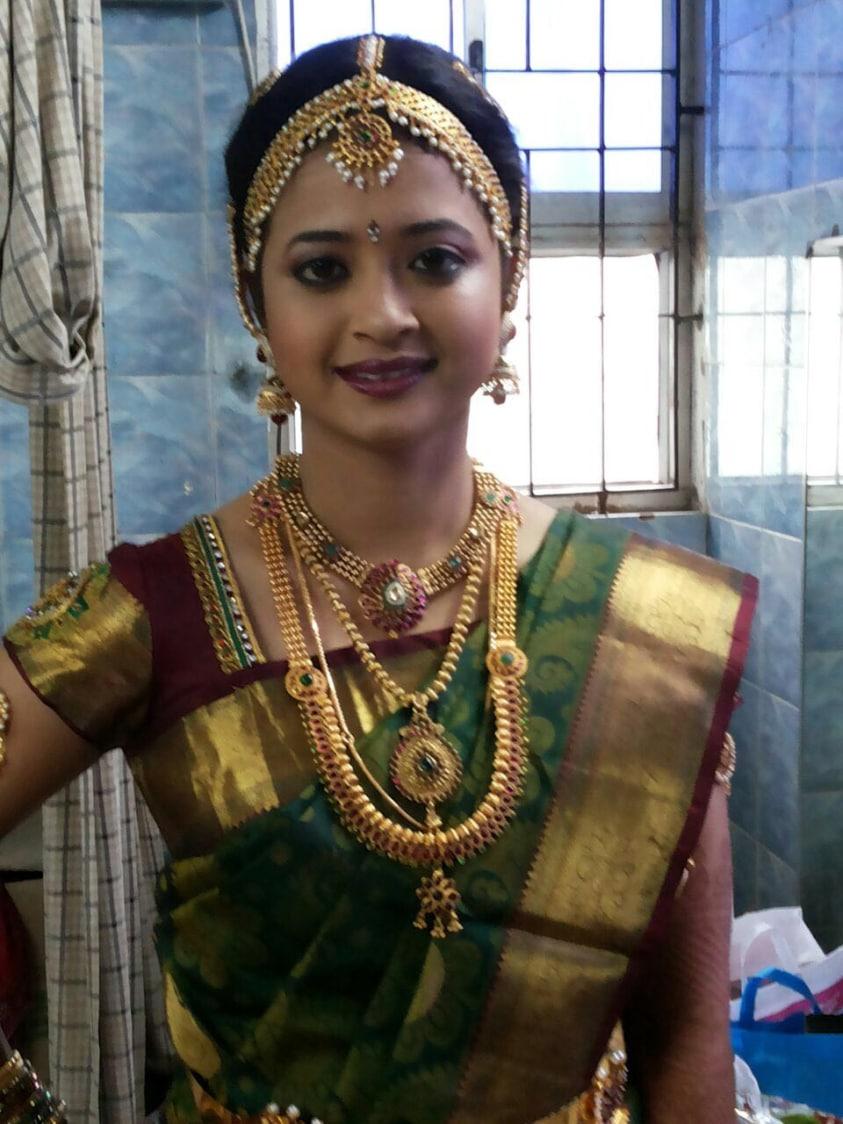 Glistering makeover by Dhruti Raichura Bridal-makeup | Weddings Photos & Ideas