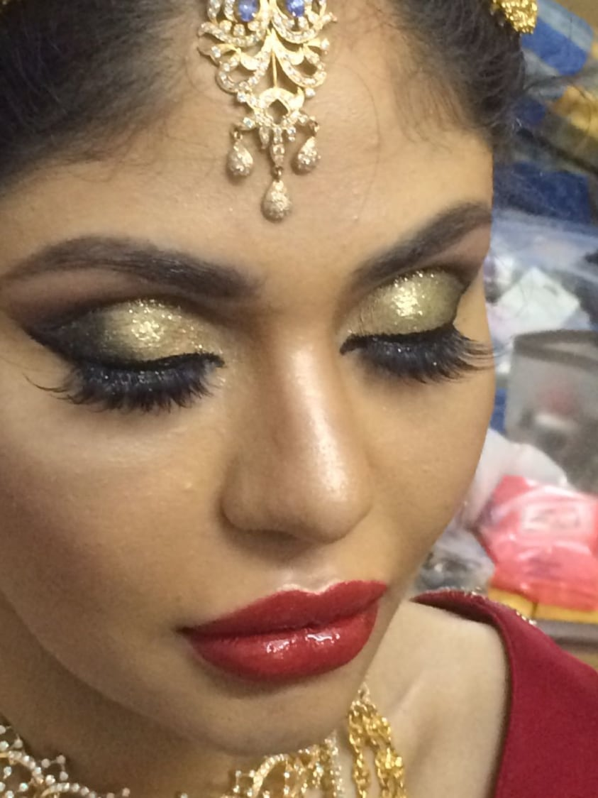 Bold maquillage by Dhruti Raichura Bridal-makeup | Weddings Photos & Ideas