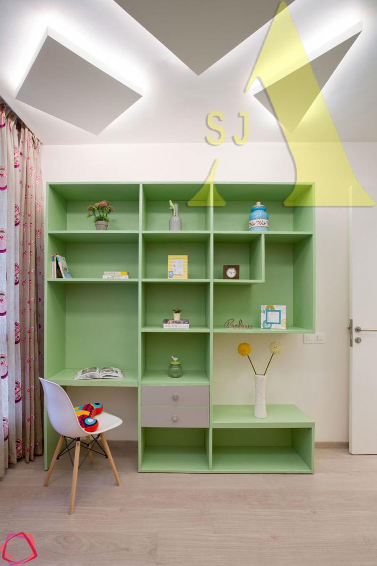 The Tone of Calmness by Suman Living-room Contemporary | Interior Design Photos & Ideas