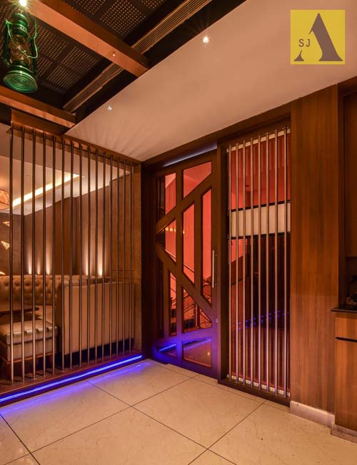 Behind The Bars by Suman Contemporary | Interior Design Photos & Ideas