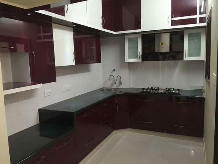 Multi Level Kitchen by Trident Infrastructures Modern | Interior Design Photos & Ideas