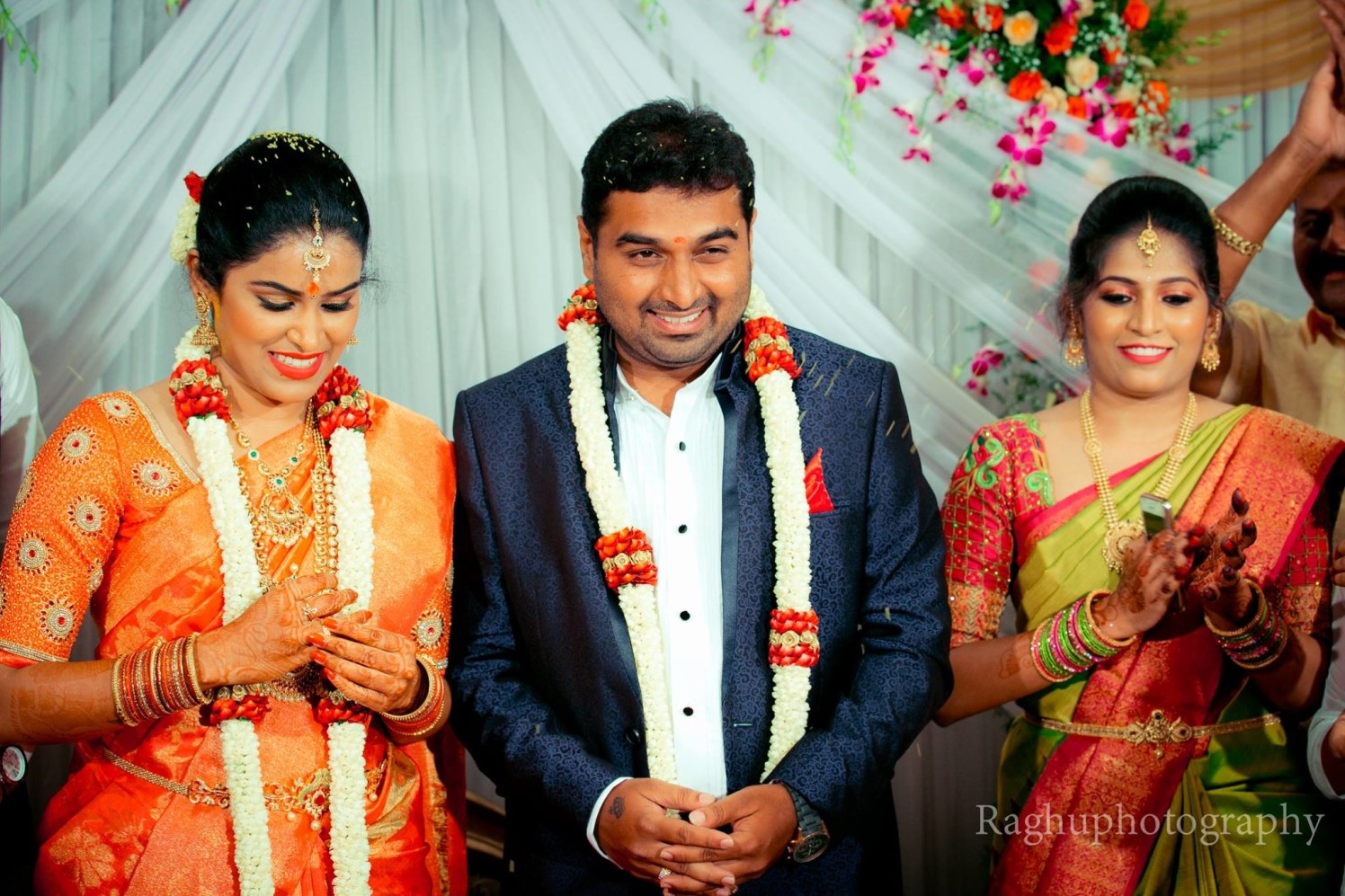 Couple Portrait On Engagement Day by Raghu Raj Wedding-photography | Weddings Photos & Ideas