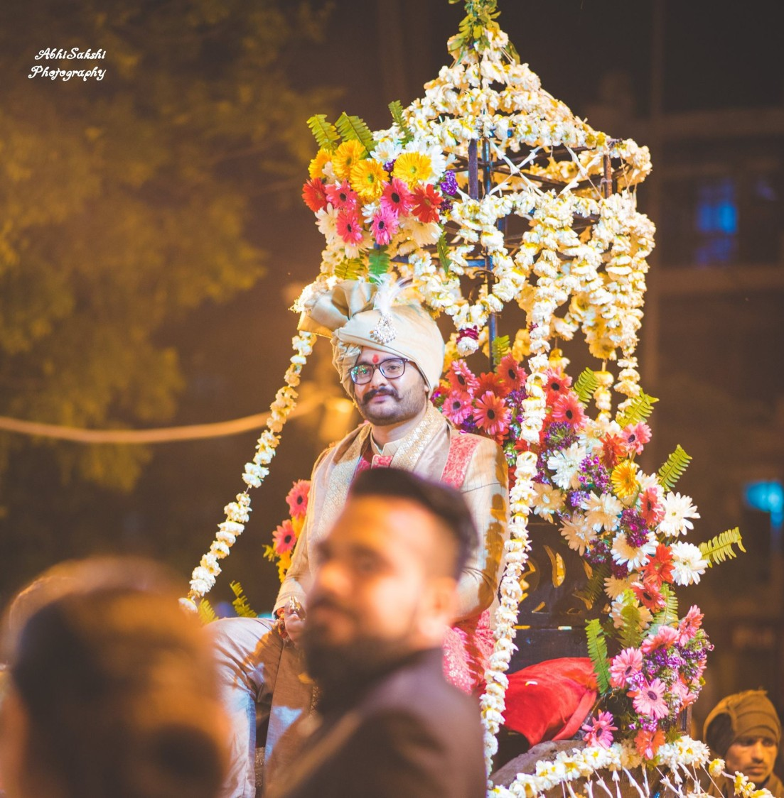 Candid Shot of Groom's Entry by AbhiSakshi Photography Wedding-photography | Weddings Photos & Ideas