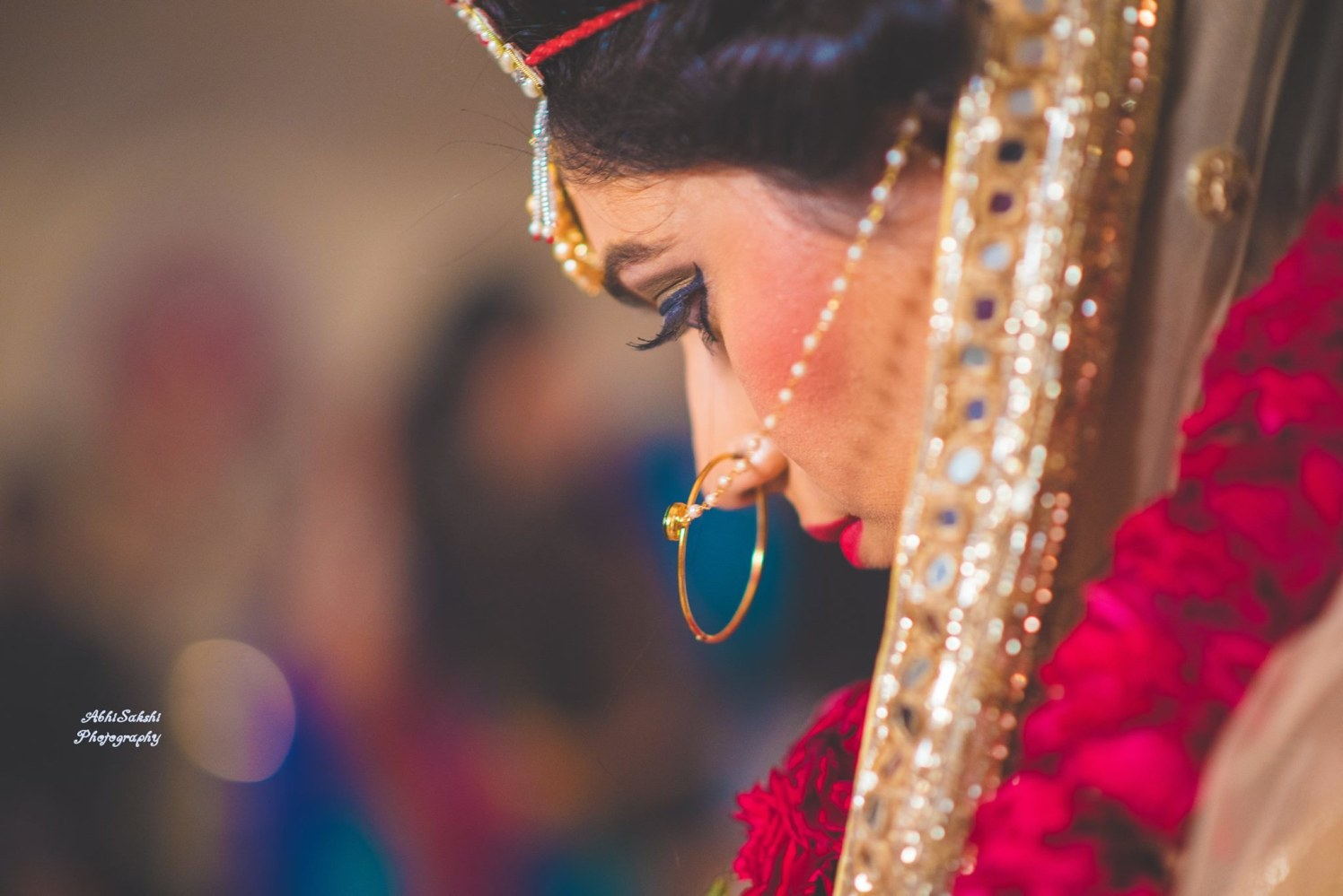 Bridal Side shot by AbhiSakshi Photography Wedding-photography | Weddings Photos & Ideas
