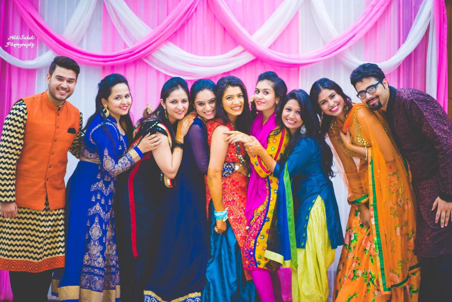 Haldi ceremony of the Bride by AbhiSakshi Photography Wedding-photography | Weddings Photos & Ideas
