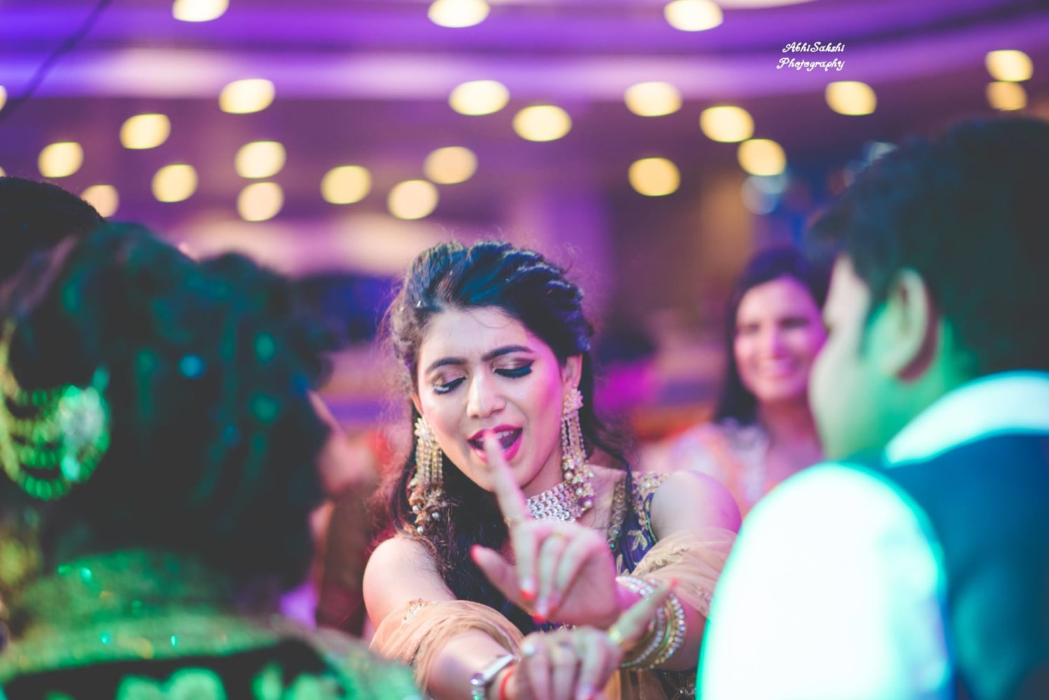 Bride and the Beats by AbhiSakshi Photography Wedding-photography | Weddings Photos & Ideas