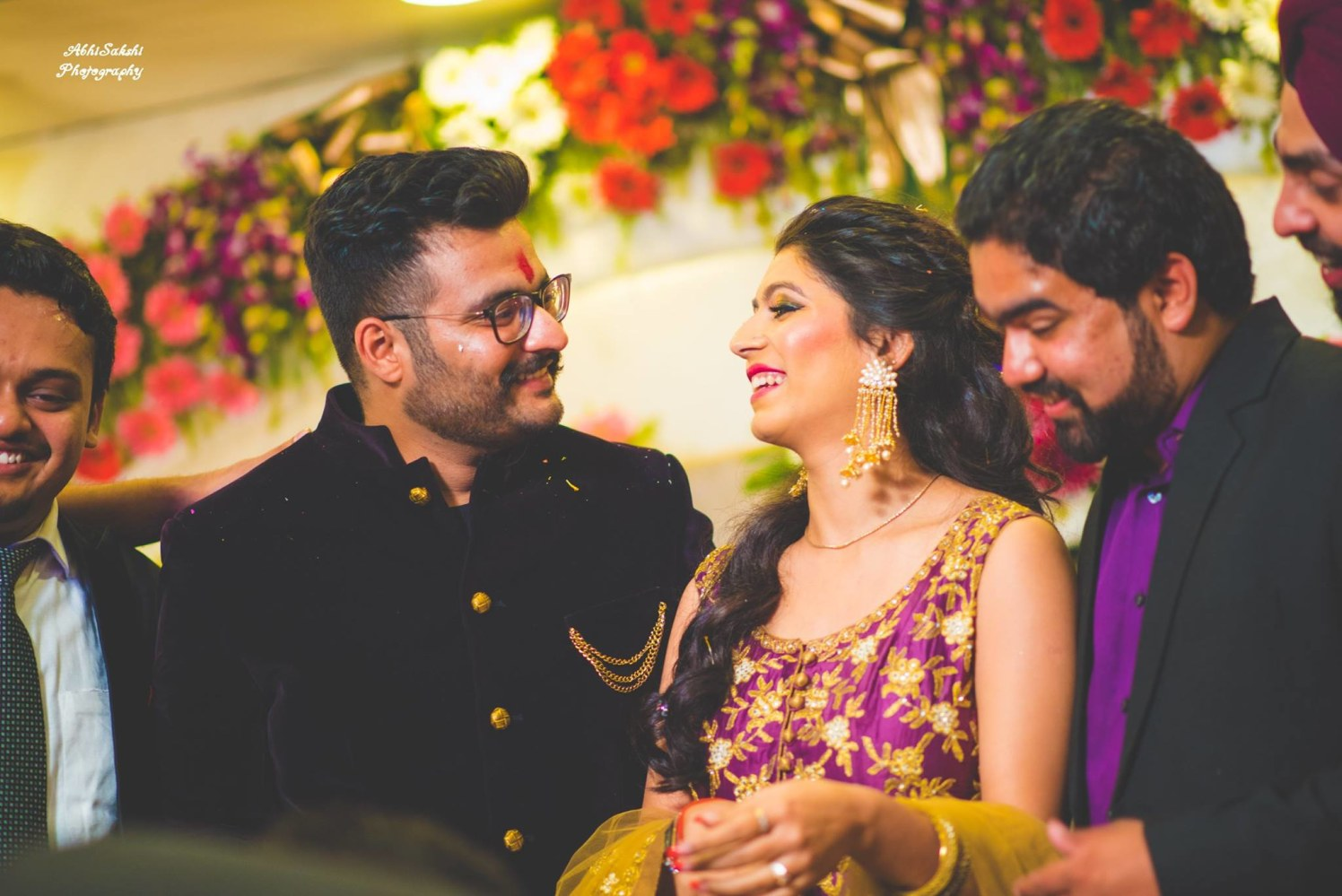 Mesmerized by each other by AbhiSakshi Photography Wedding-photography | Weddings Photos & Ideas