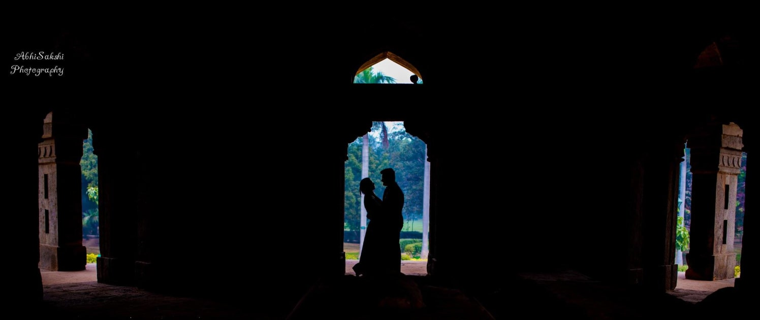 Couple silhouette Shot by AbhiSakshi Photography Wedding-photography | Weddings Photos & Ideas