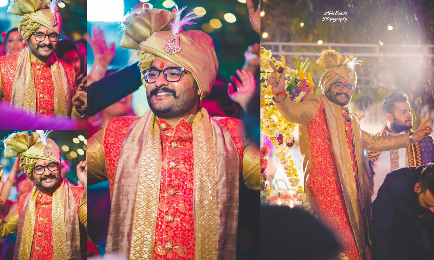 Groom strikes some pose by AbhiSakshi Photography Wedding-photography | Weddings Photos & Ideas