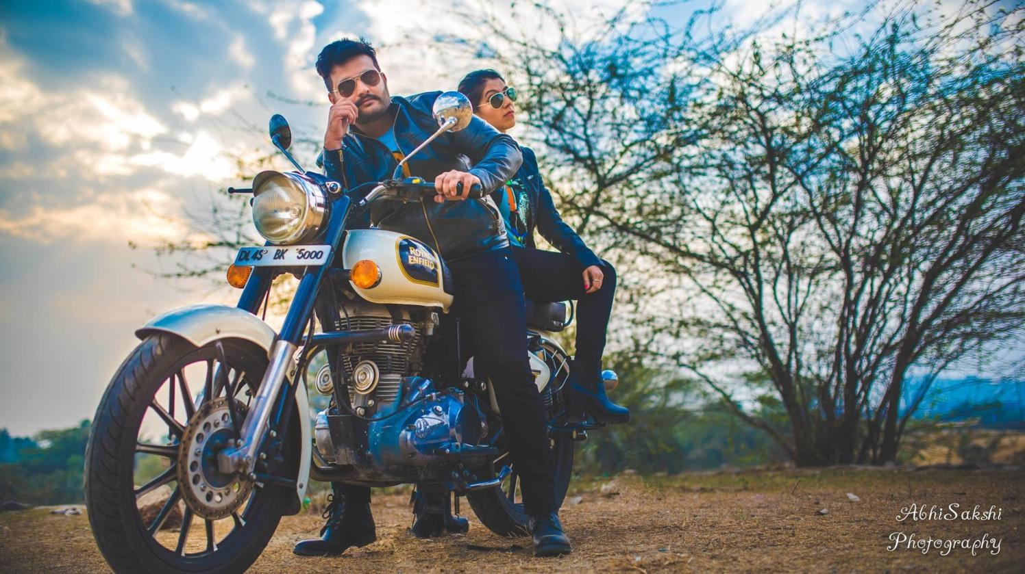 Pre-wedding Photo shoot idea by AbhiSakshi Photography Wedding-photography | Weddings Photos & Ideas