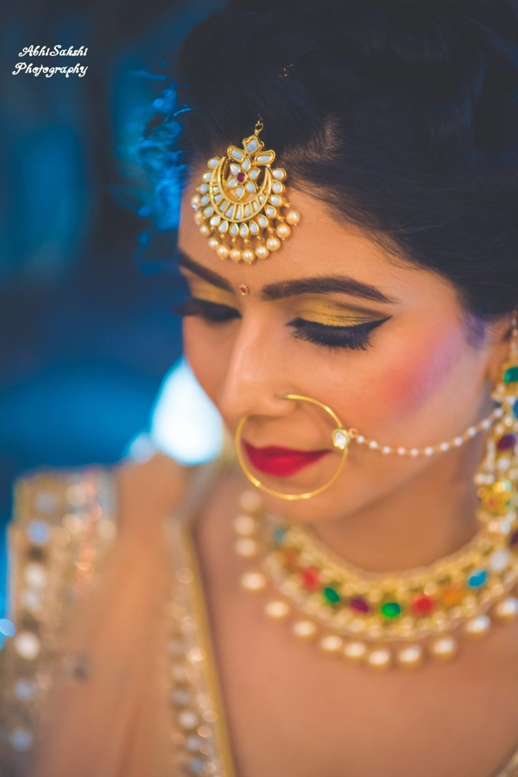 Bride details by AbhiSakshi Photography Wedding-photography | Weddings Photos & Ideas