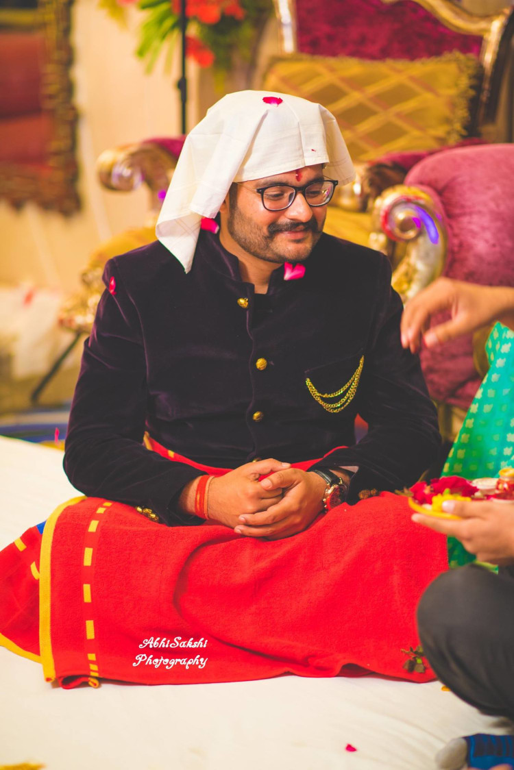Candid Groom by AbhiSakshi Photography Wedding-photography | Weddings Photos & Ideas