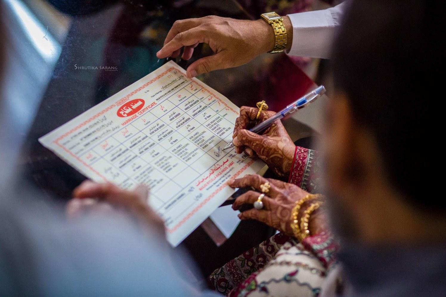 Made it official by Shrutika Sarang Photography Wedding-photography | Weddings Photos & Ideas