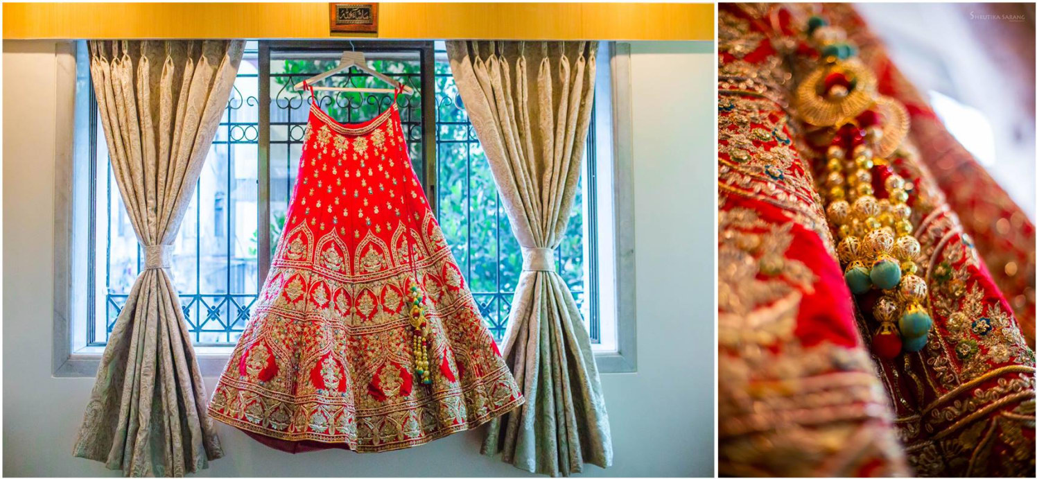 The bridal dress by Shrutika Sarang Photography Wedding-photography | Weddings Photos & Ideas