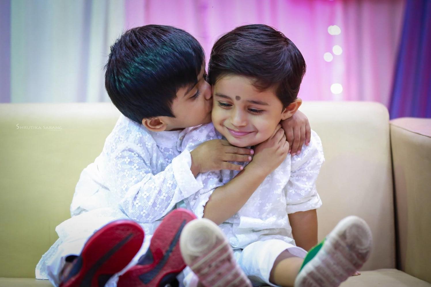 Double cuteness by Shrutika Sarang Photography Wedding-photography | Weddings Photos & Ideas
