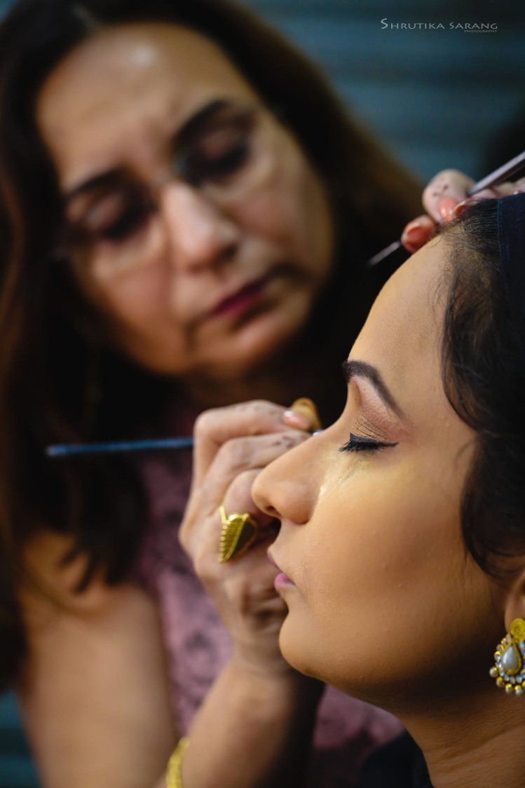 Getting ready by Shrutika Sarang Photography Wedding-photography | Weddings Photos & Ideas