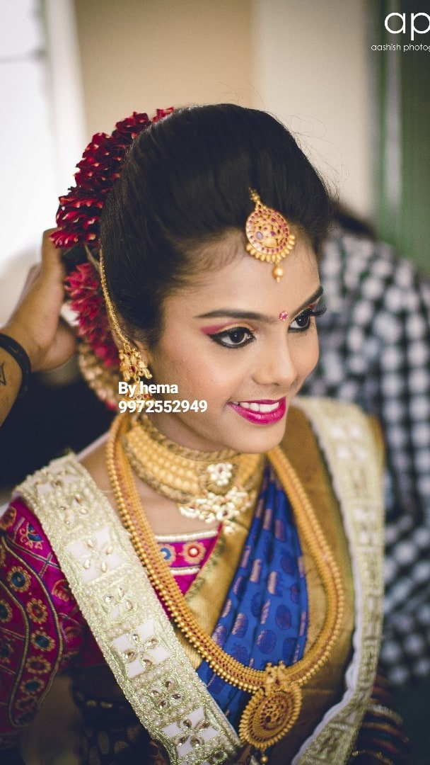 Priming with perfection by Hemavathi Bridal-makeup | Weddings Photos & Ideas