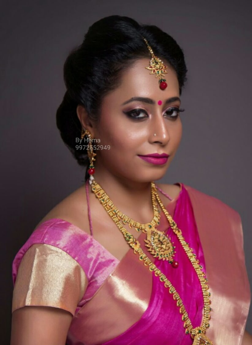 The dusky gaze by Hemavathi Bridal-makeup | Weddings Photos & Ideas