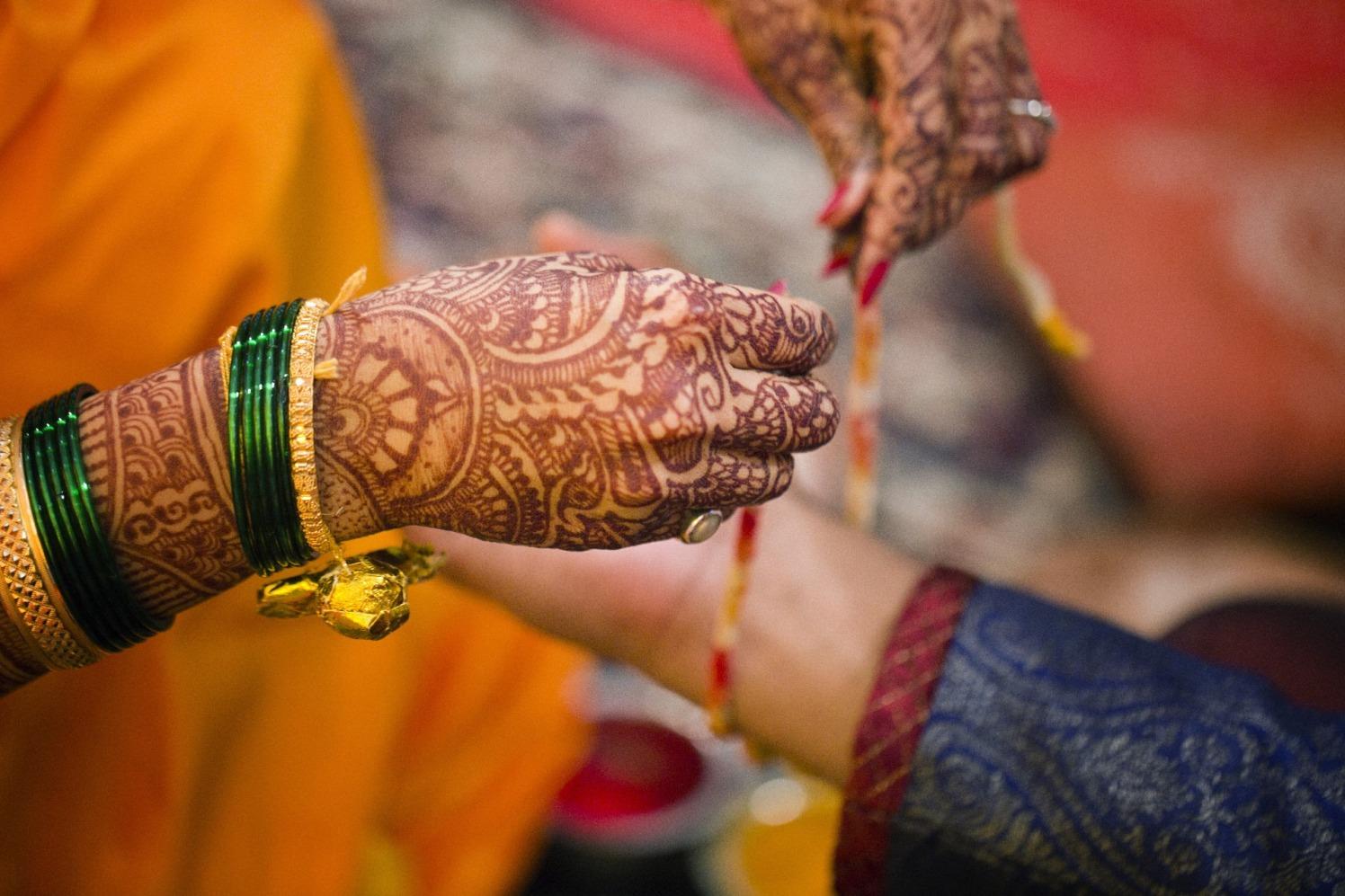 Holy thread by Cuttlefish Photography Wedding-photography | Weddings Photos & Ideas