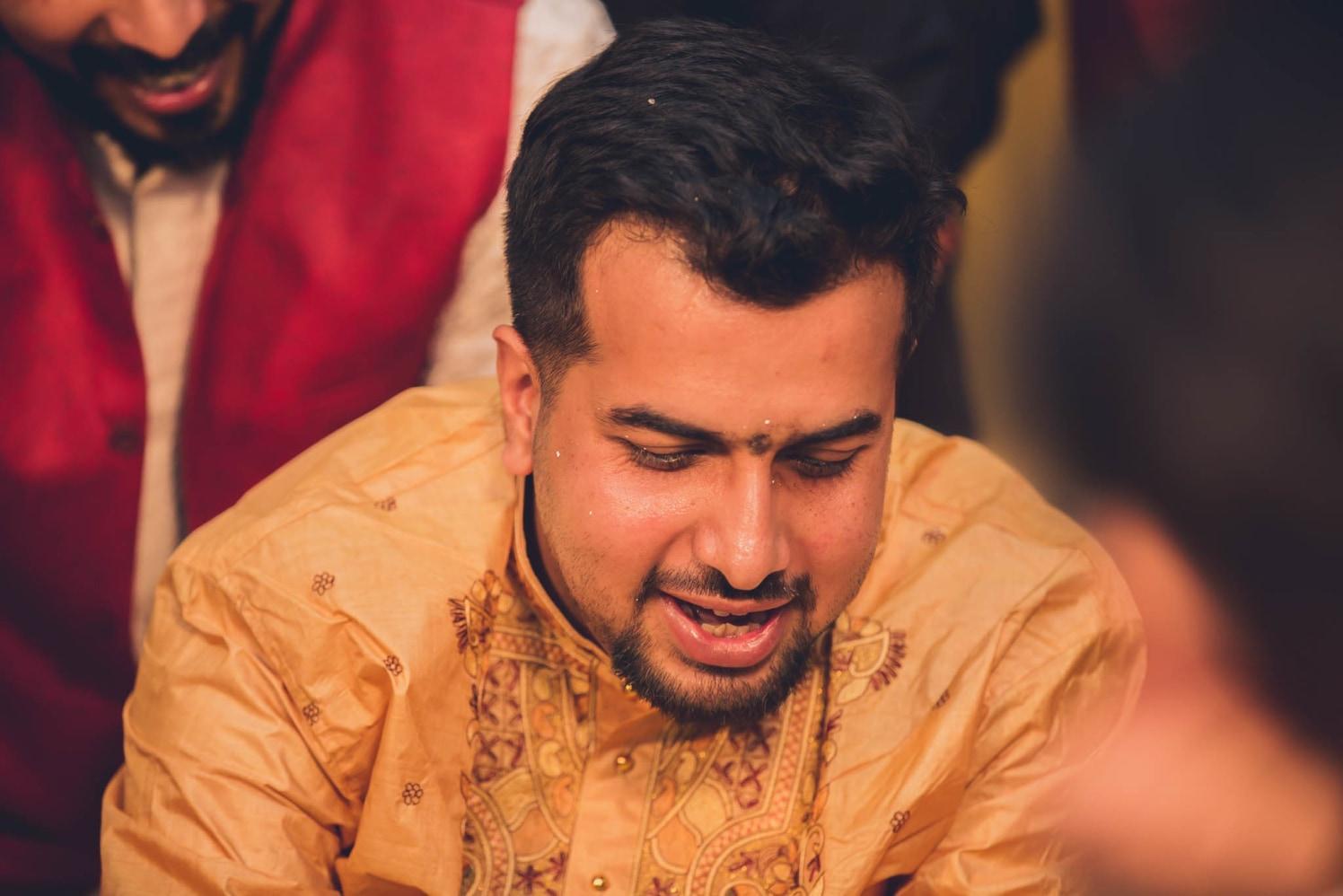Overjoyed groom! by Patrick Joseph Wedding-photography | Weddings Photos & Ideas