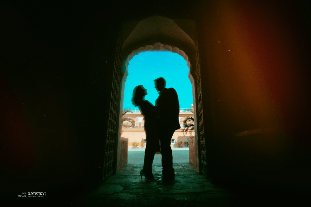 Silhouettes of immense ardor by My Visual Artistry Wedding-photography | Weddings Photos & Ideas