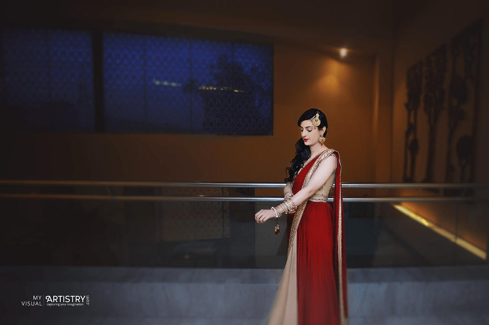 Dazzling princess in red by My Visual Artistry Wedding-photography | Weddings Photos & Ideas