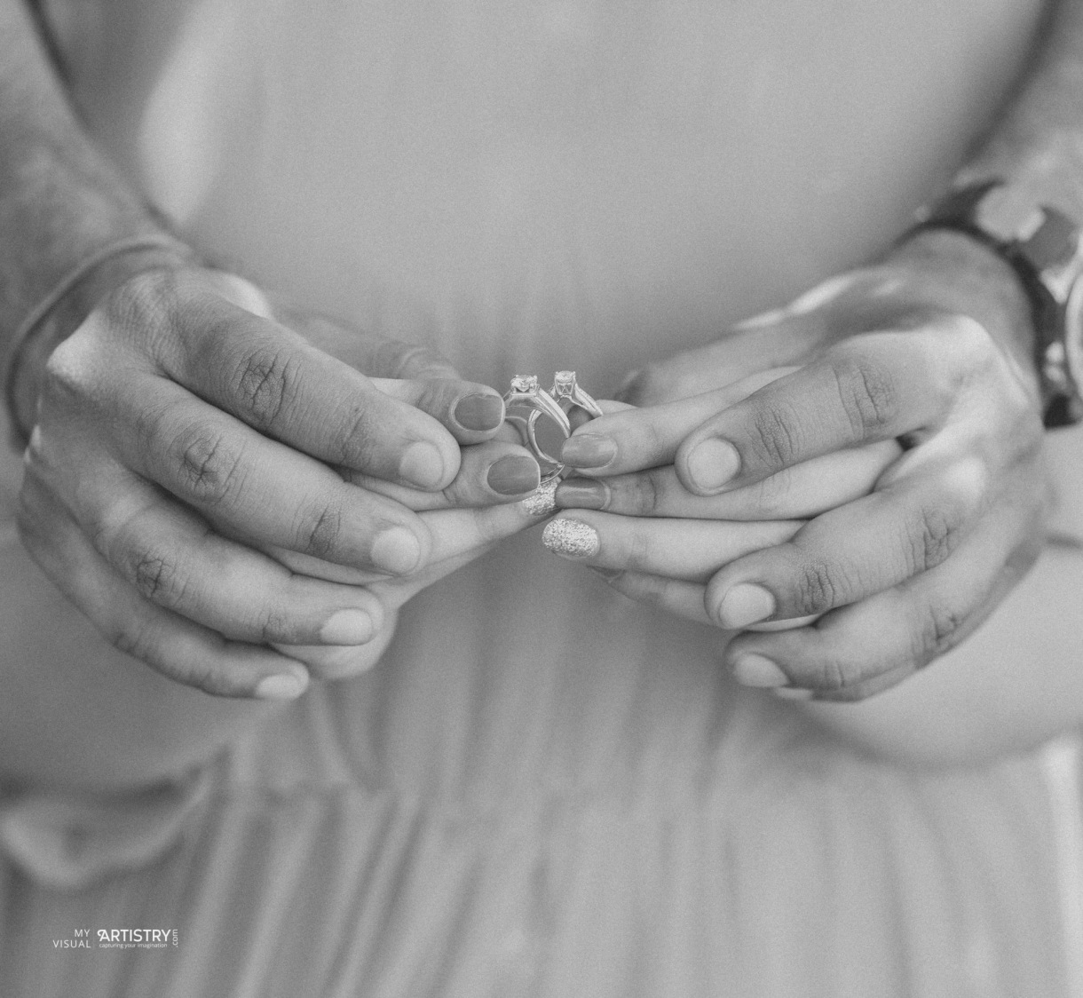 Lovely little handcuffs of love by My Visual Artistry Wedding-photography | Weddings Photos & Ideas