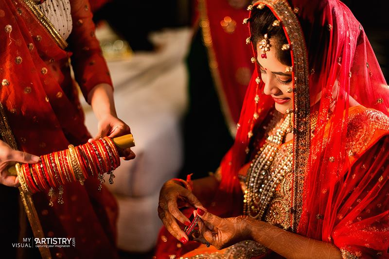 Red colour of beauty by My Visual Artistry Wedding-photography | Weddings Photos & Ideas