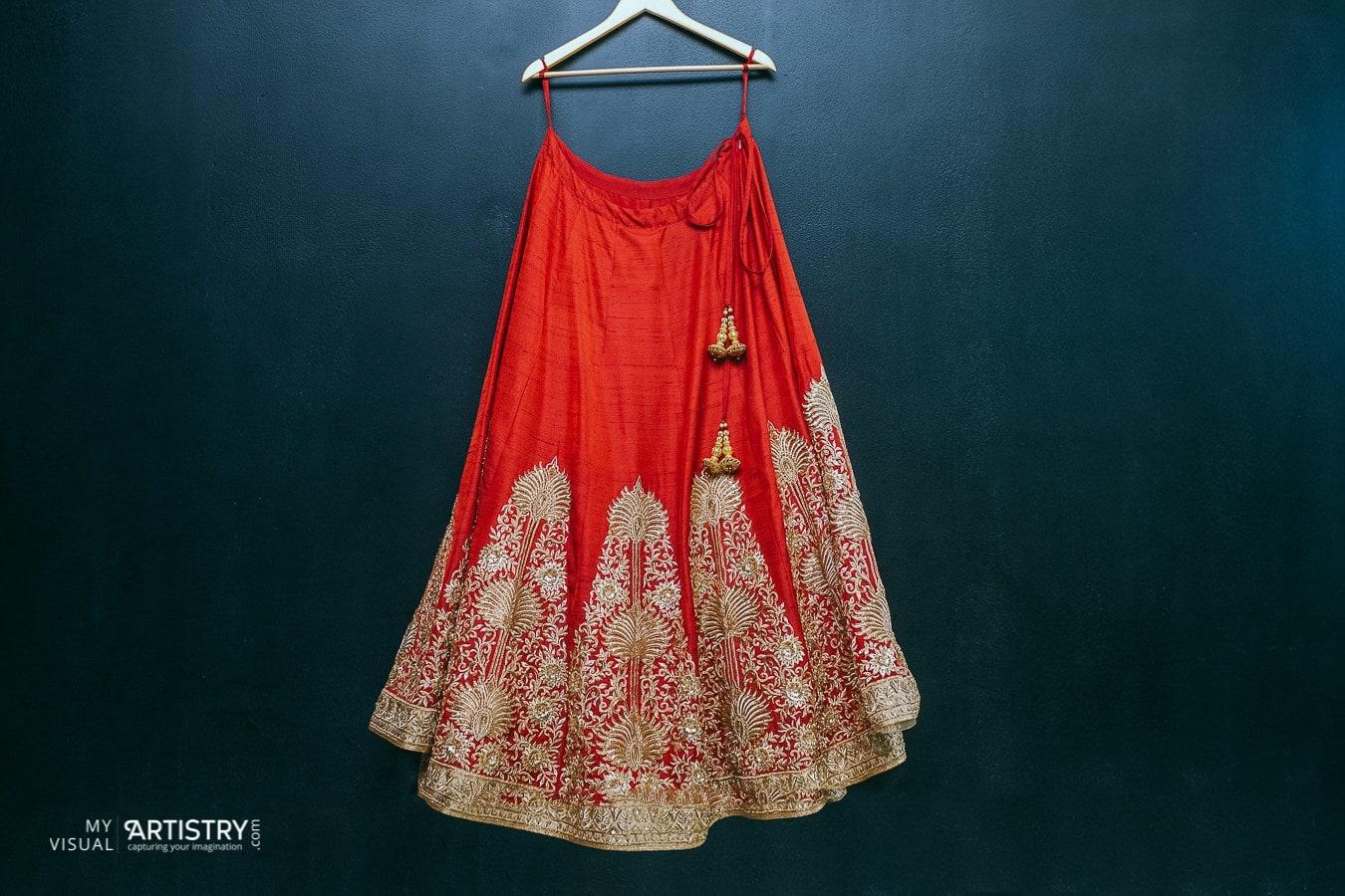 Prodigious red bridal attire by My Visual Artistry Wedding-photography | Weddings Photos & Ideas