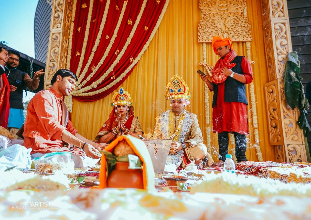 Precious and pious rituals by My Visual Artistry Wedding-photography | Weddings Photos & Ideas