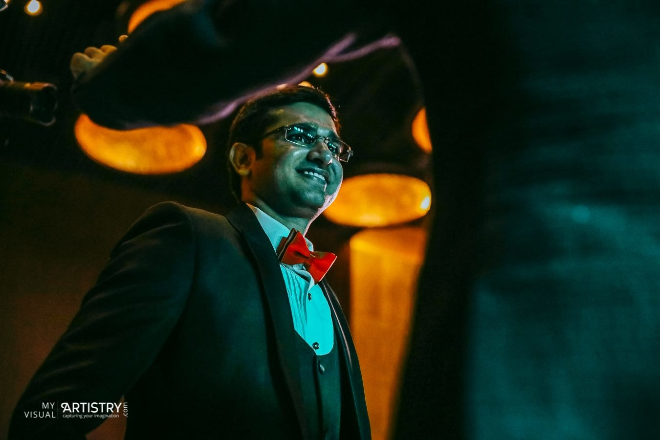 Glowing with happiness by My Visual Artistry Wedding-photography | Weddings Photos & Ideas