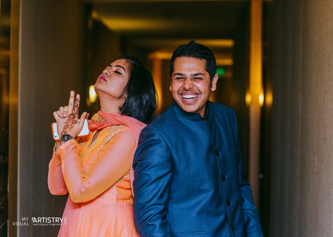 Cheerful posers by My Visual Artistry Wedding-photography   Weddings Photos & Ideas