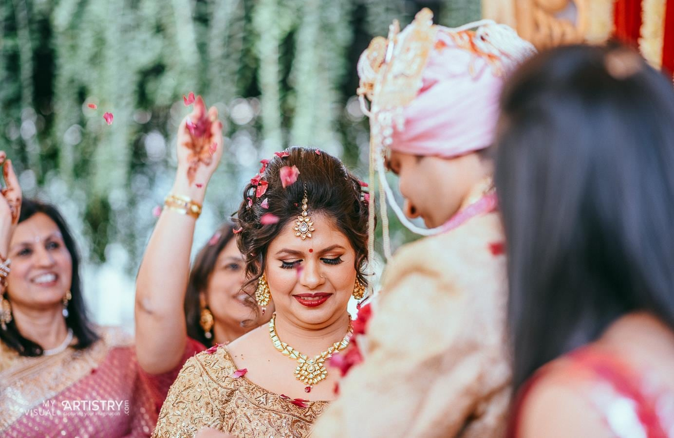 Ravishing comely bride by My Visual Artistry Wedding-photography | Weddings Photos & Ideas