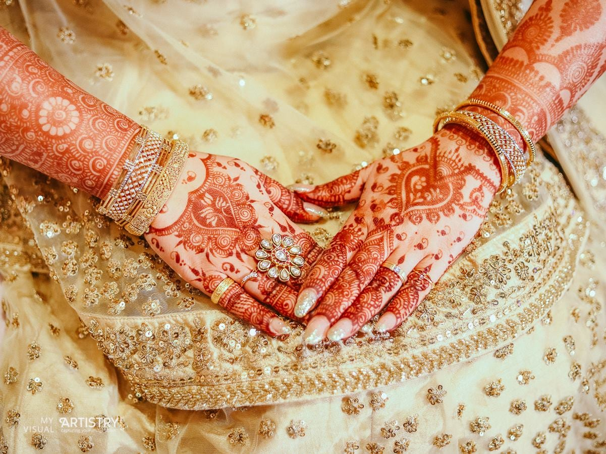 Embellished golden glisten by My Visual Artistry Wedding-photography | Weddings Photos & Ideas