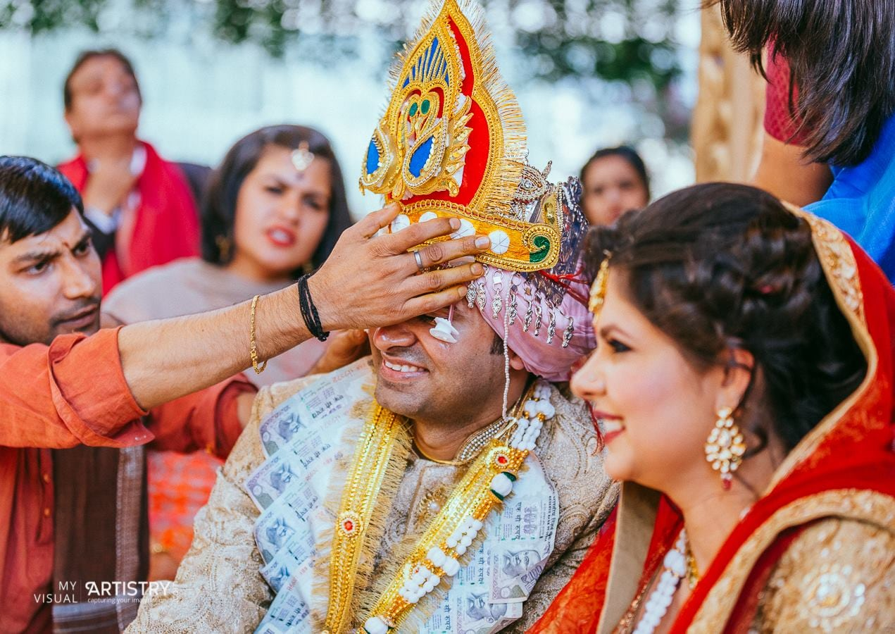 Jubilant colours of wedding by My Visual Artistry Wedding-photography | Weddings Photos & Ideas