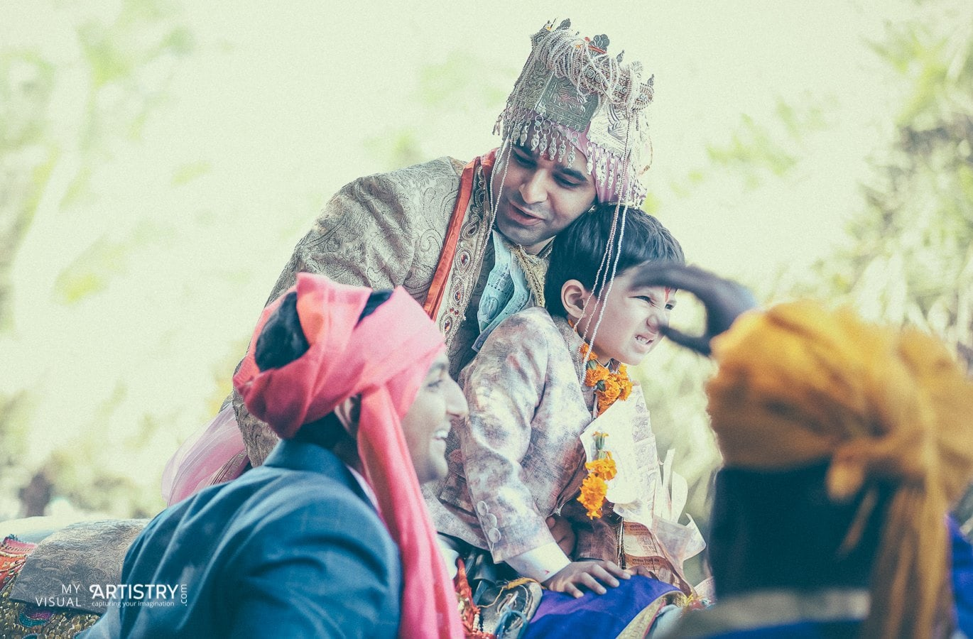 Bengali groom's ingress by My Visual Artistry Wedding-photography | Weddings Photos & Ideas