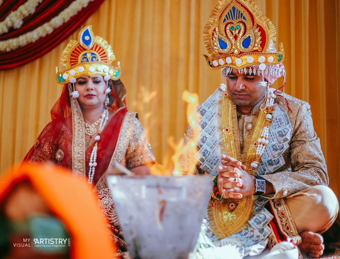 Blissful wedding rituals by My Visual Artistry Wedding-photography | Weddings Photos & Ideas