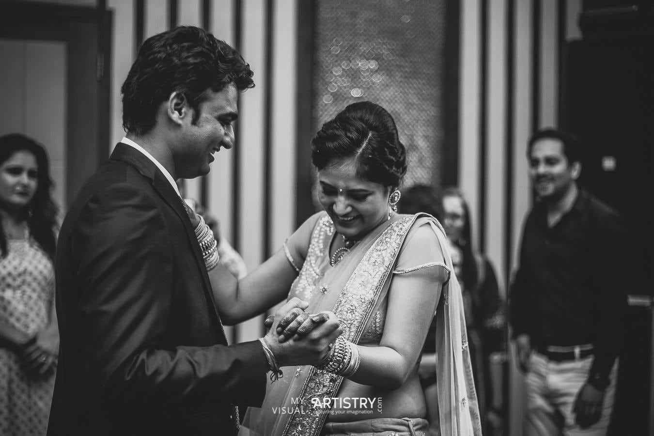 Contented couple by My Visual Artistry Wedding-photography | Weddings Photos & Ideas