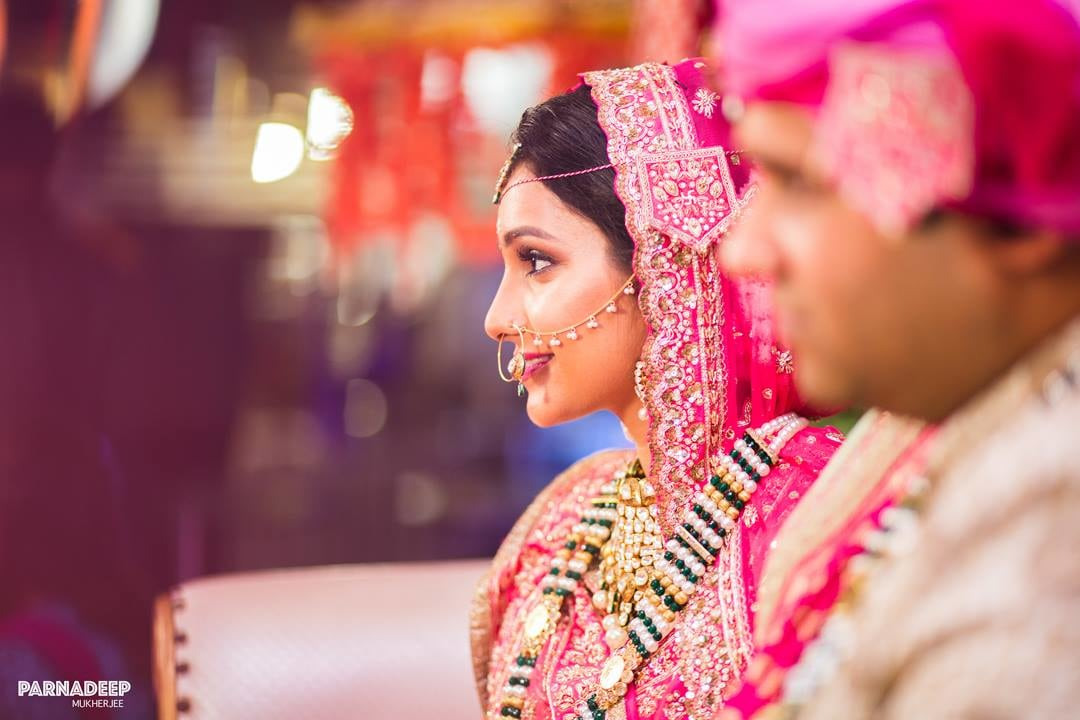 Bridal left profile by Parnadeep Mukherjee Photography  Wedding-photography | Weddings Photos & Ideas
