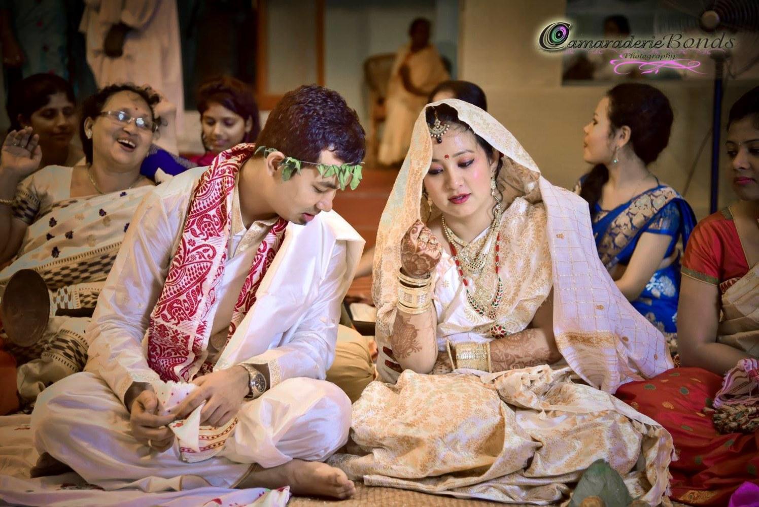 Enticing bride and groom by Tarkik Borah Photography Wedding-photography | Weddings Photos & Ideas