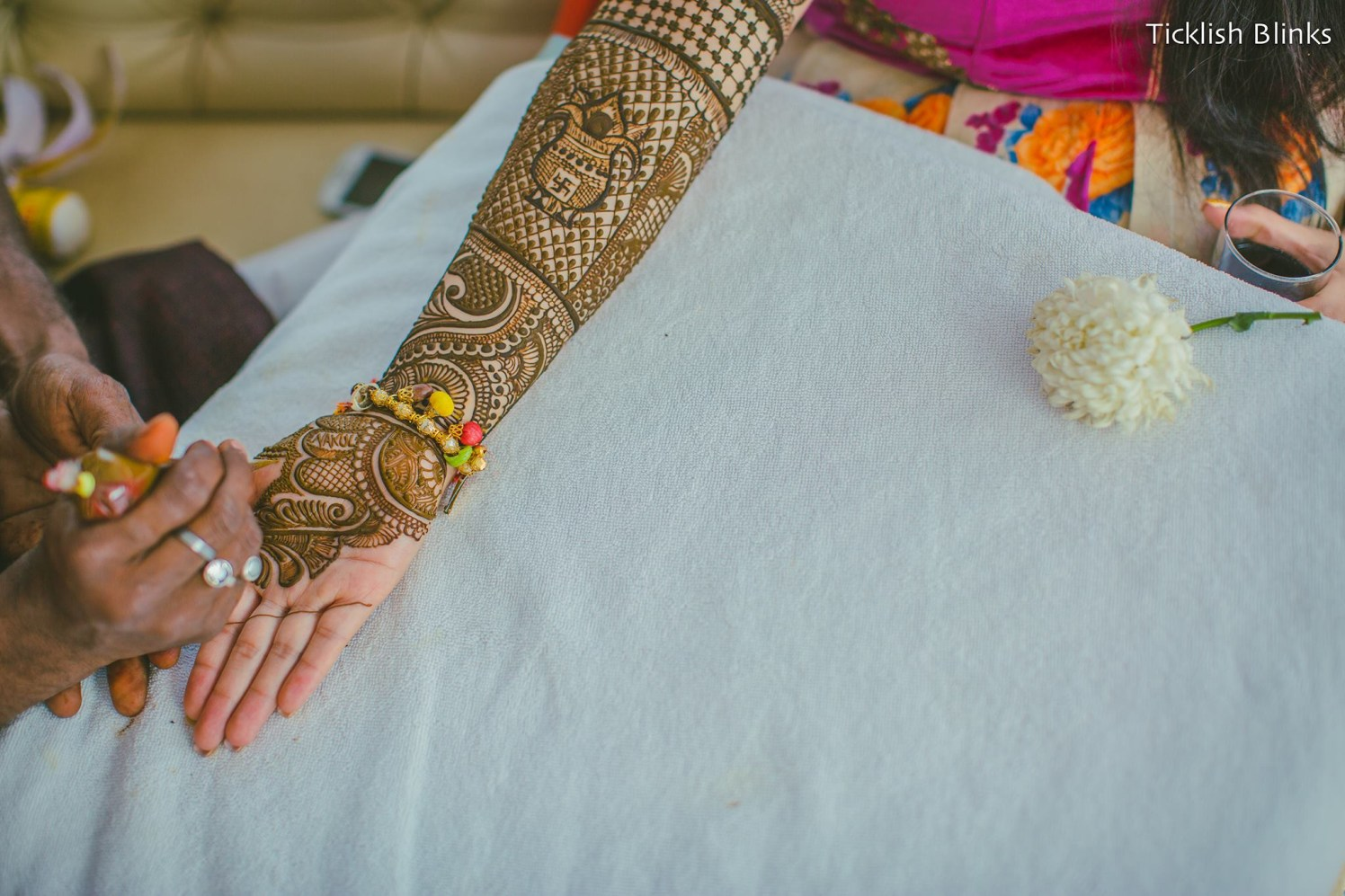 Henna Tattoed Hands by Ticklish Blinks Wedding-photography Bridal-mehendi | Weddings Photos & Ideas