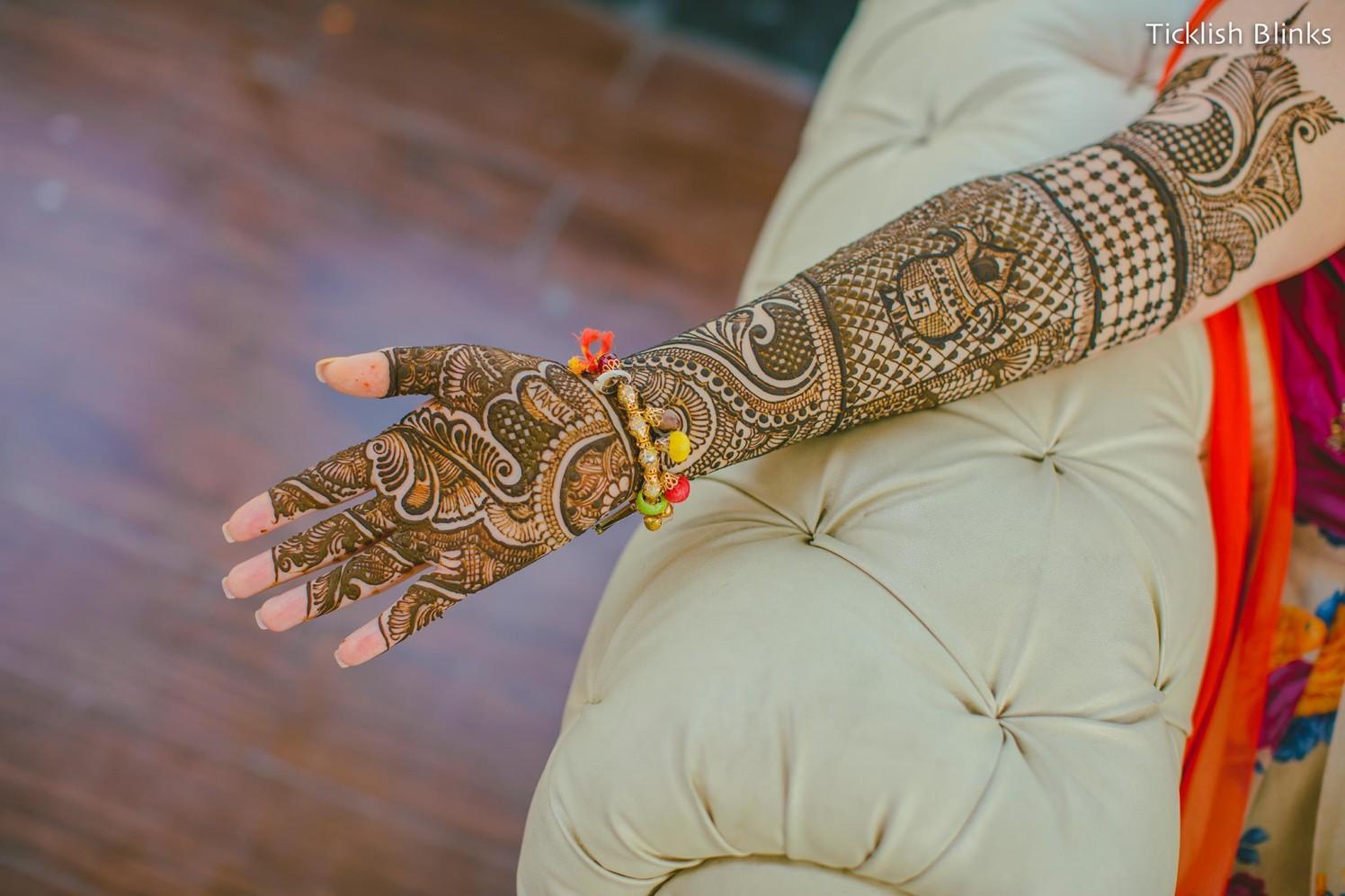 Kalash Designed Mehendi Hands by Ticklish Blinks Wedding-photography Bridal-mehendi | Weddings Photos & Ideas