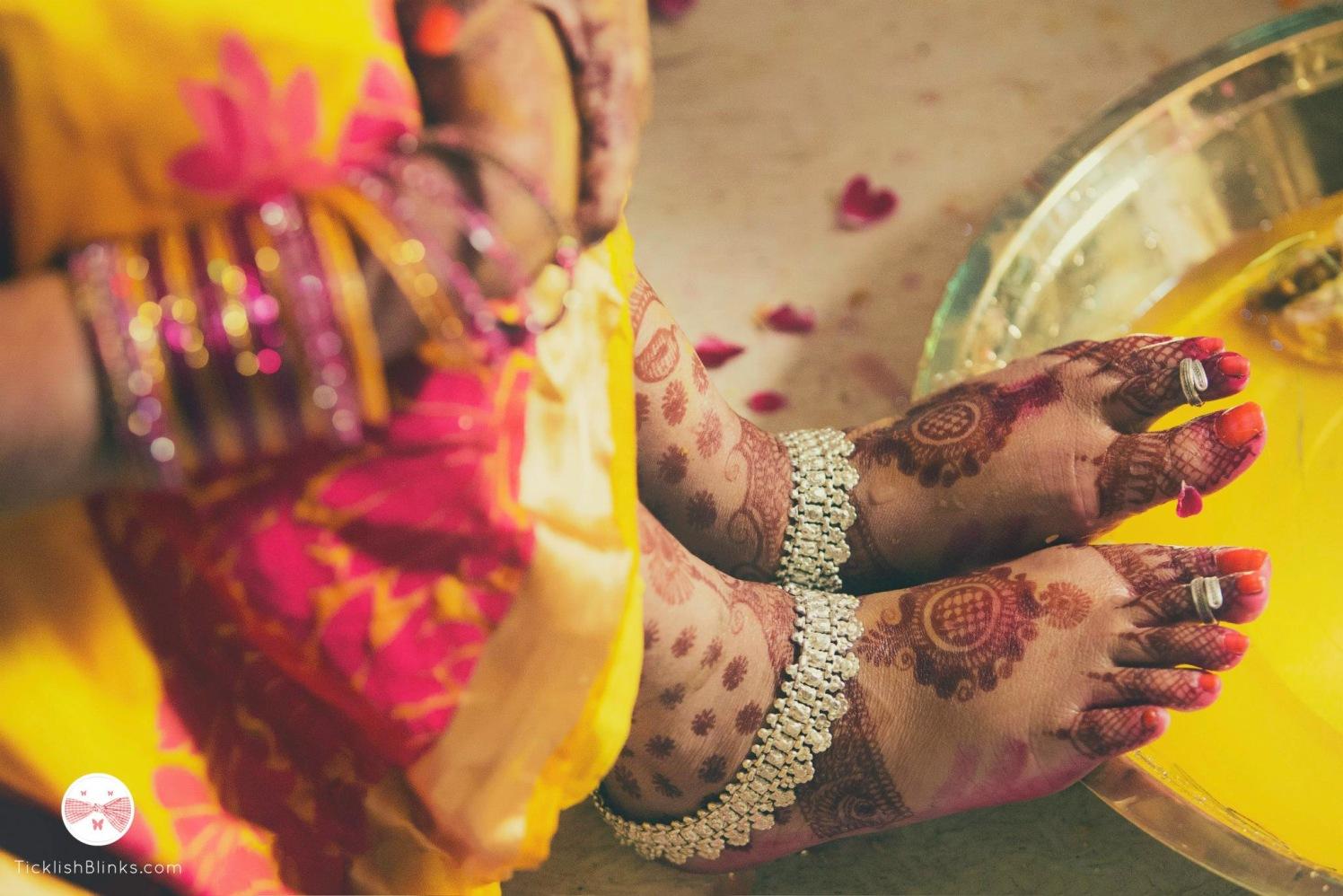 Silver  Bridal Anklet by Ticklish Blinks Wedding-photography   Weddings Photos & Ideas
