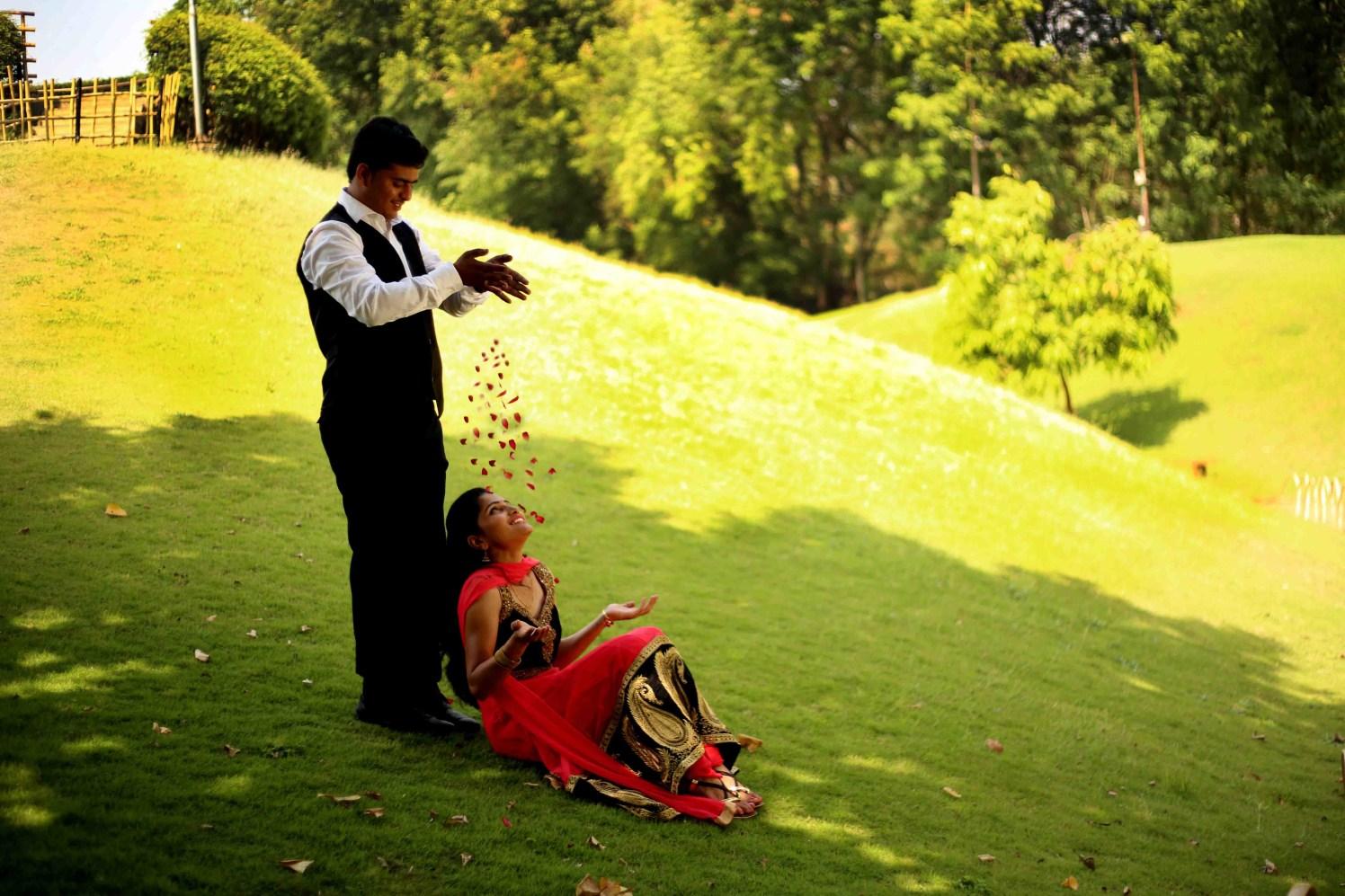 Overjoyed rosy gaze by Rushil Jadhav Wedding-photography | Weddings Photos & Ideas