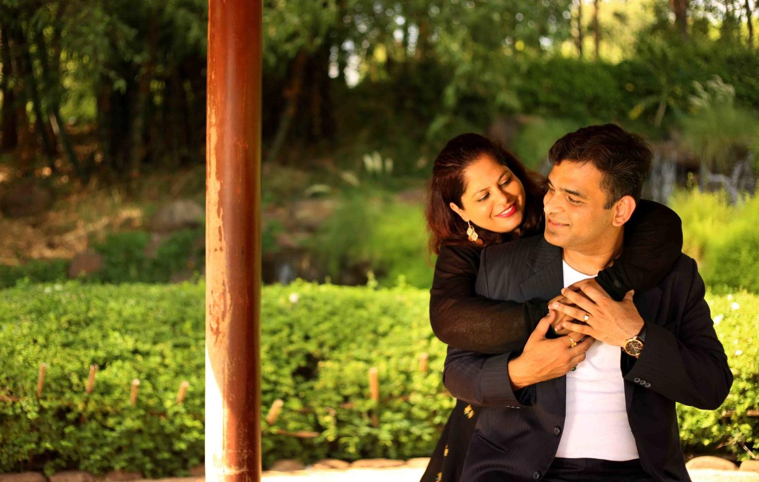 Skittish hug by Rushil Jadhav Wedding-photography | Weddings Photos & Ideas