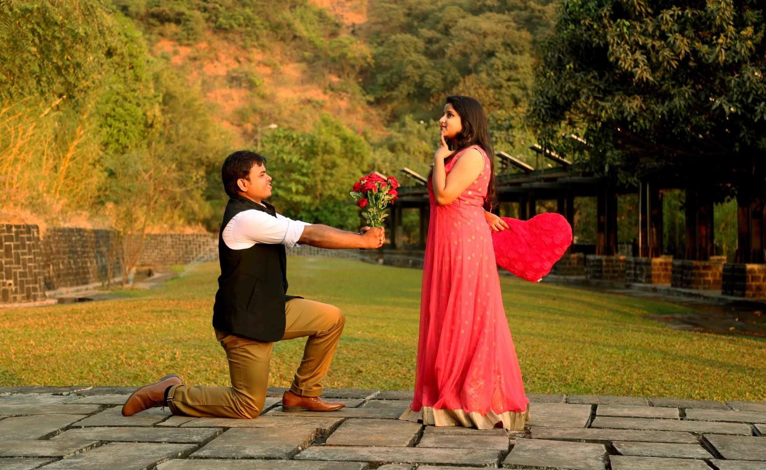 Vigour of proposal by Rushil Jadhav Wedding-photography | Weddings Photos & Ideas
