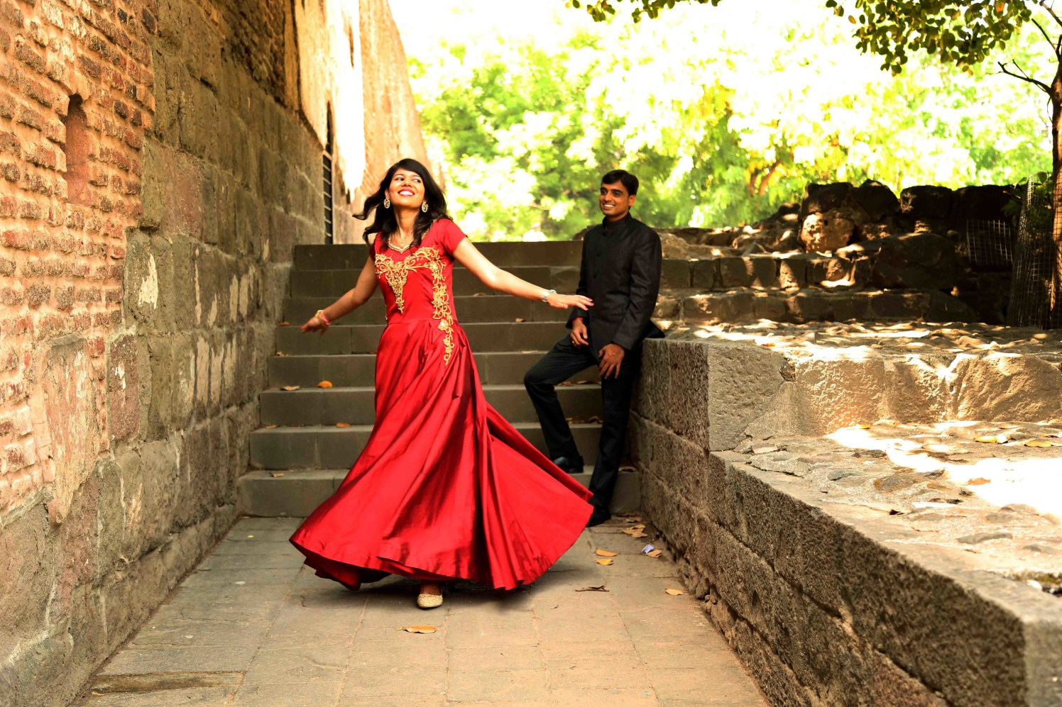 Twirling with happiness by Rushil Jadhav Wedding-photography | Weddings Photos & Ideas