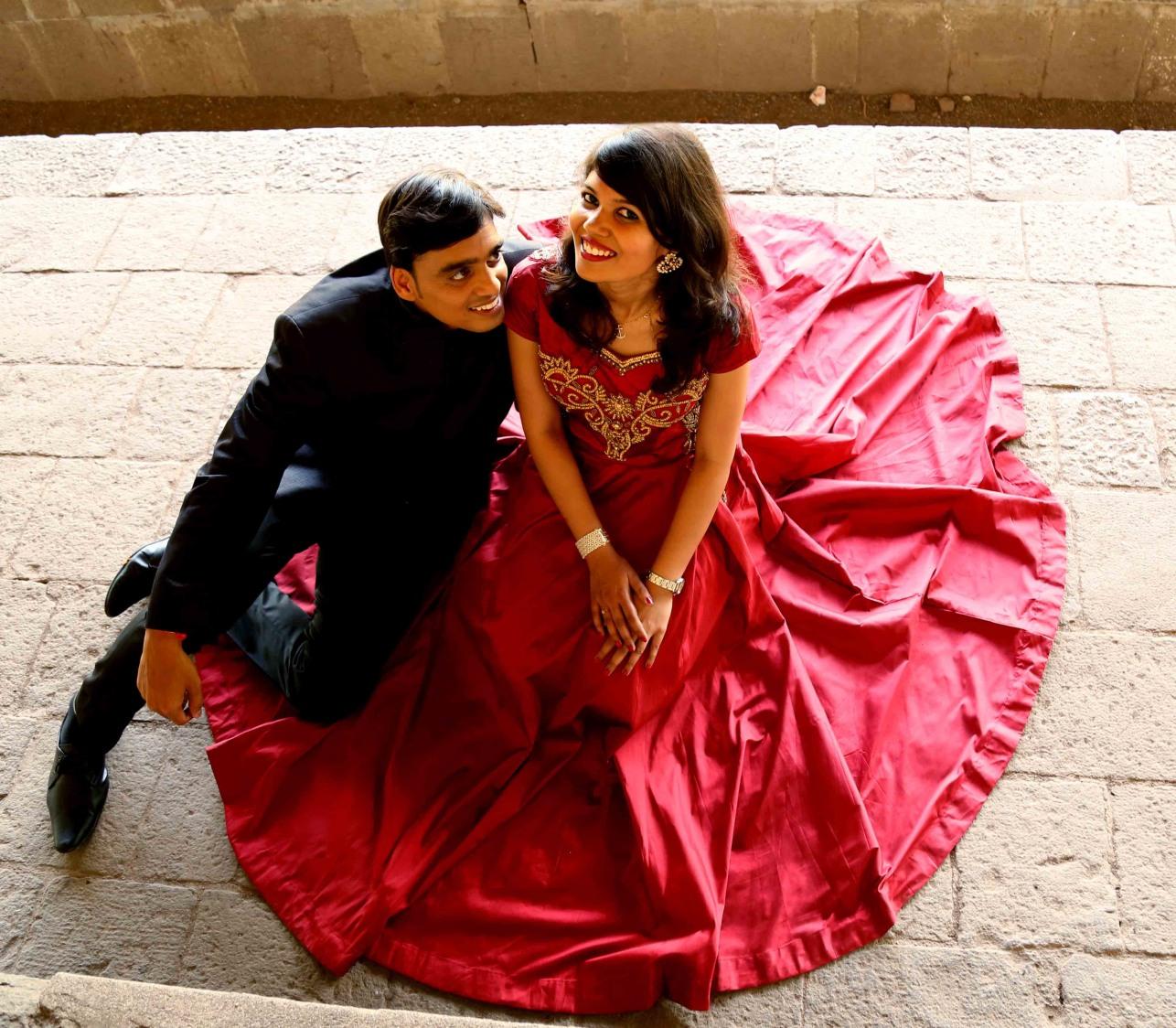 Mesmerizing rosy gape by Rushil Jadhav Wedding-photography | Weddings Photos & Ideas