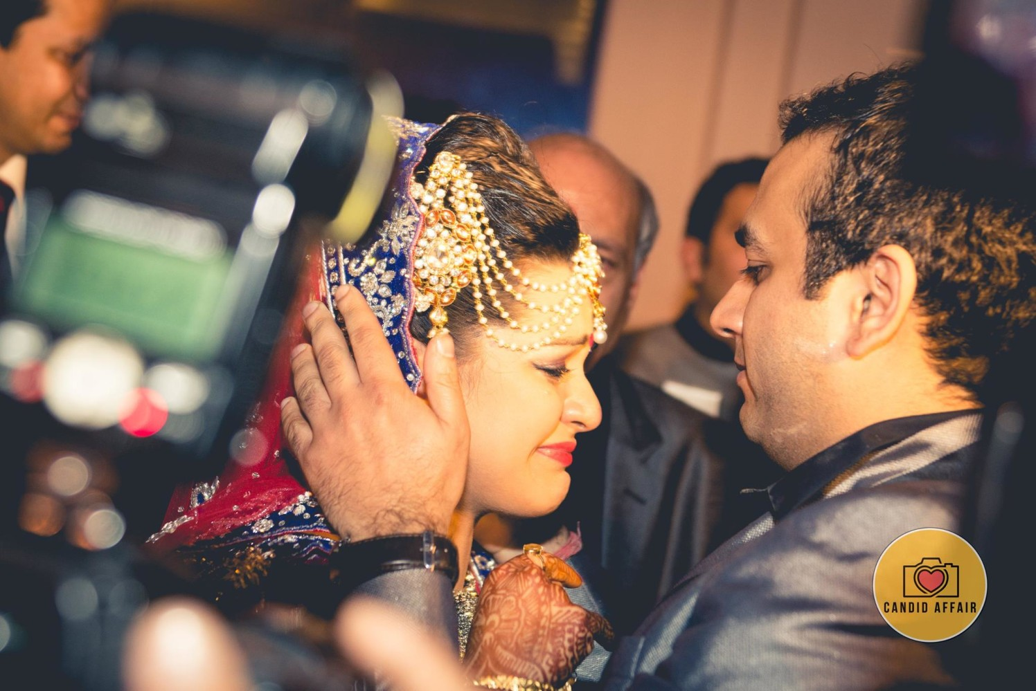That moment though by Candid Affair Wedding-photography | Weddings Photos & Ideas